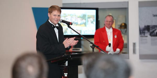 Toastmaster at the JTI 10th Anniversary Celerabrations at the Imperial War Museum Manchester