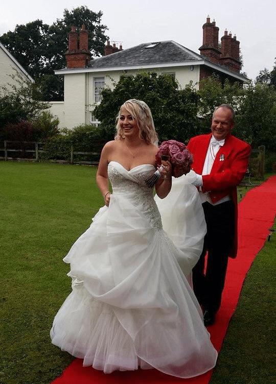 Toastmaster at Sarah & Ryan's Wedding Cheshire