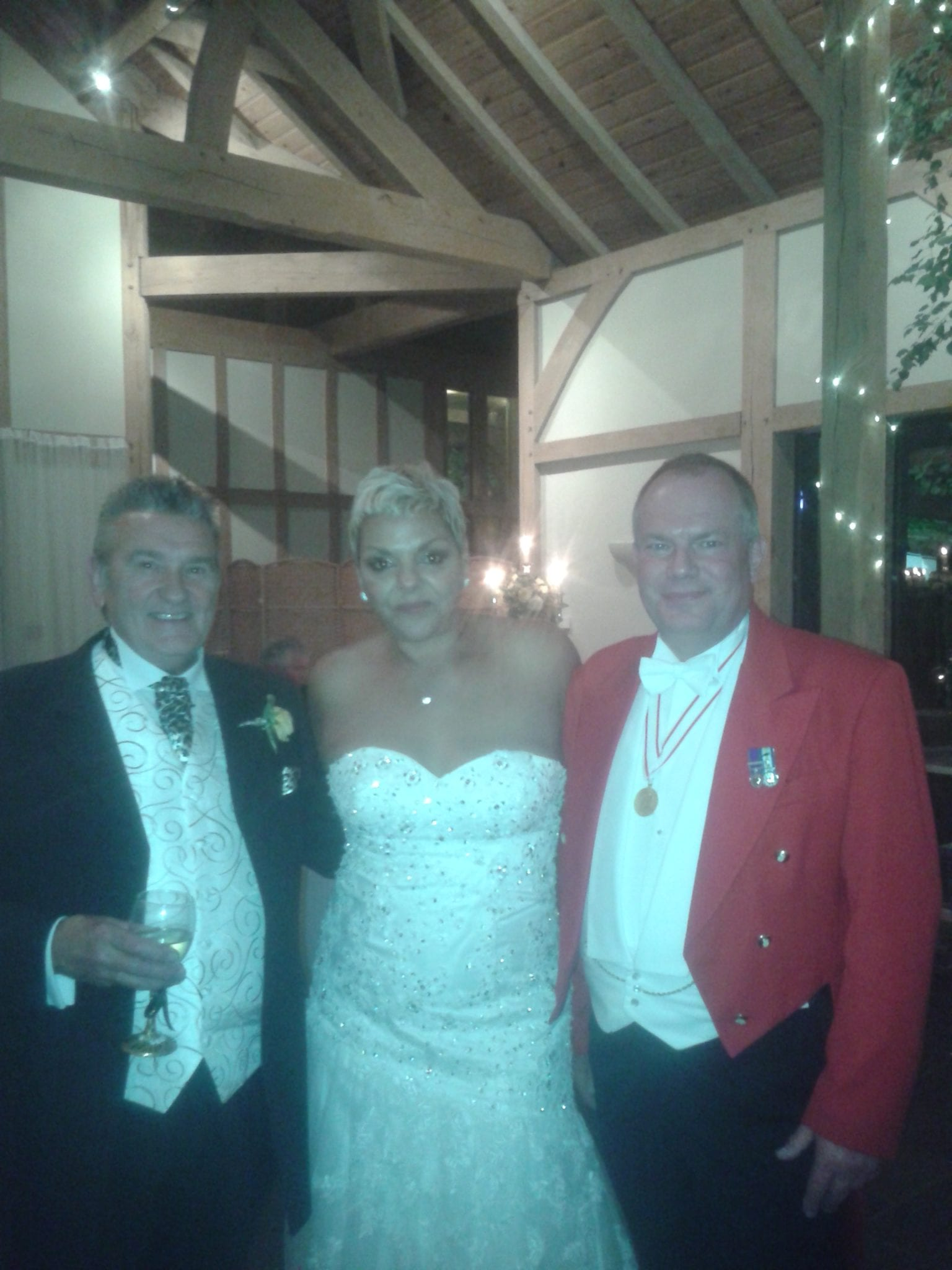 Toastmaster for Karren & Colin's Wedding at Peover G C